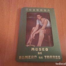Postales: LIBRITO ACORDEÓN 10 POSTALES CÓRDOBA MUSEO DE ROMERO DE TORRES . Lote 194897305