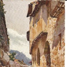 Postales: POSTAL CALLE SANTA PAU DE OLOT (GIRONA) CATALUÑA ARTISTICA - EDIT. FENIX COMP.. Lote 194988202