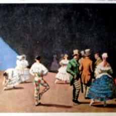 Cartoline: PINTURA: CARNAVAL DE LAURA KNIGHT. NUEVA. BLANCO/NEGRO. Lote 195064528