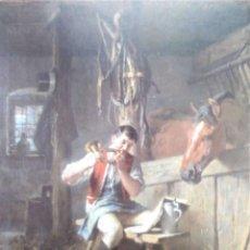 Postales: SOLDADO TOCANDO LA CORNETA. MUSEO DE FRANKFURT. NUEVA. COLOR. Lote 195064748