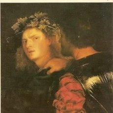Postales: ALEMANIA ** & POSTALE, TIZIAN, IL BRAVO, KUNSTHISTORISCHES MUSEO, VIENA (67899). Lote 195141531