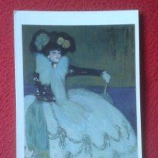 Postales: POSTAL POST CARD PABLO RUIZ PICASSO MUJER EN AZUL 1901 MUSEO NACIONAL CENTRO DE ARTE REINA SOFÍA VER. Lote 195173001