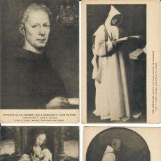 Postales: LOTE DE 9 POSTALES EN B/N DE CUADROS DEL MUSEO DE CÁDIZ. Lote 195187546