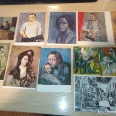 Postales: LOTE 10 POSTALES SIN CIRCULAR SIN ESCRIBIR - PISASSO - ED-. SHORR - DAVID -SALVE -SPADEM. Lote 195319236