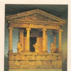 Postales: POSTAL RECONSTRUCCION MONUMENTO DE LAS NEREIDAS. MUSEO BRITANICO. LONDRES (REINO UNIDO). Lote 195487318