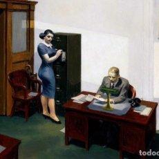 Postales: POSTAL DEL CUADRO OFFICE AT NIGHT, DE EDWARD HOPPER. TEMA: PINTURA, ARTE.. Lote 270260273