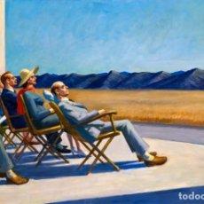 Postales: POSTAL DEL CUADRO PEOPLE IN THE SUN, DE EDWARD HOPPER. TEMA: PINTURA, ARTE.. Lote 222184358