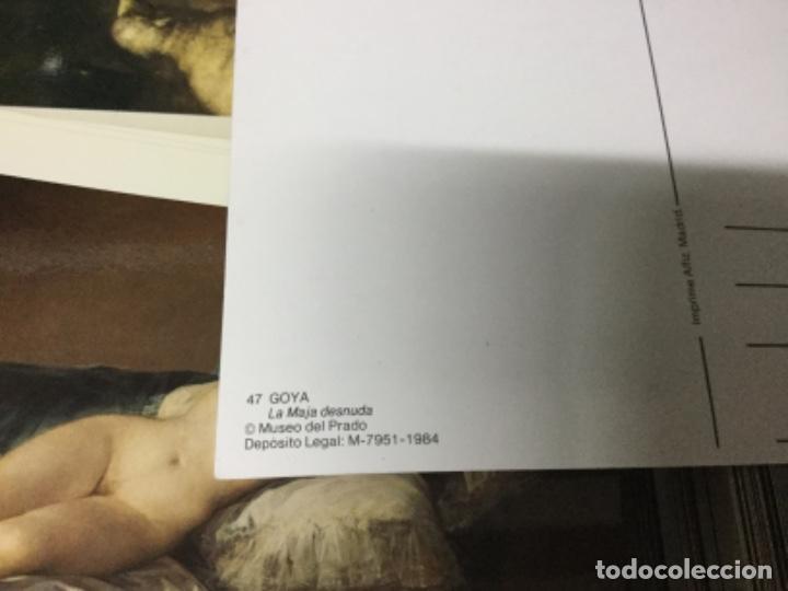 Postales: 800 postales CUADROS MUSEO DEL PRADO - lote 3 - Foto 2 - 197313126