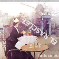 Postales: ANTIGUA POSTAL EN COLOR -RAMON CASAS- PAISAJE DE PARIS - SIN CIRCULAR. Lote 197452973