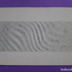 Postales: POSTAL JOAN MIRO APUNTES 1918 SIN CIRCULAR. Lote 198748073