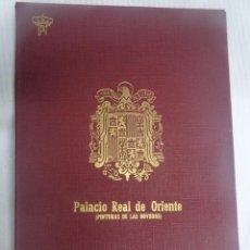 Postales: PALACIO REAL DE ORIENTE (PINTURA DE LAS BÓVEDAS) ED. PATRIMONIO NACIONAL. Lote 199830991