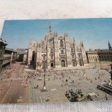 Postales: MILANO PIAZZA DEL DUOMO. Lote 199853590