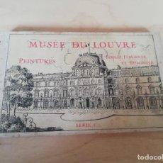 Postales: BLOC POSTALES MUSEE DU LOUVRE . SERIE 4. PEINTURES ITALIENNE ET ESPAGNOLE. Lote 199903391