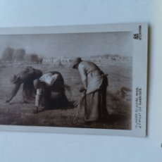 Postales: POSTAL DE J. LUIS MILLET LES GLANEUSES CIRCULADA EN 1926. MUSÉE DU LOUVRE. A. N PARÍS Nº644. Lote 199988858