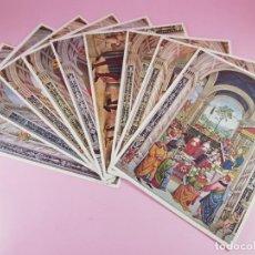 Postales: 2/LOTE 12 POSTALES-ITALIA-COLECCIÓN ARTE-MARTELLO EDITORE-MILÁN-NUEVAS-S/C-ANTIGUAS. Lote 200591675
