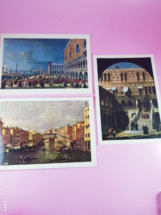 Postales: 7/LOTE 3 POSTALES-ARTE-ITALIA-P.MARZARI-EDOZ.ARDO-SIN CIRCULAR-EXCELENTE-VER FOTOS. - Foto 3 - 200760030