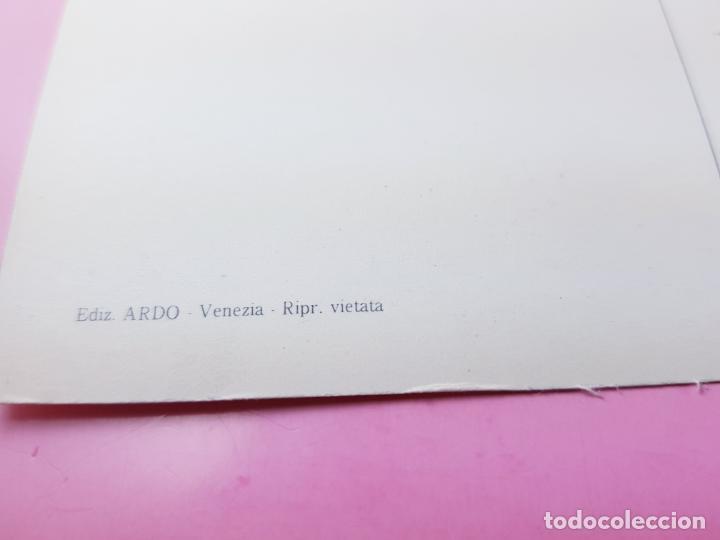 Postales: 7/LOTE 3 POSTALES-ARTE-ITALIA-P.MARZARI-EDOZ.ARDO-SIN CIRCULAR-EXCELENTE-VER FOTOS. - Foto 8 - 200760030