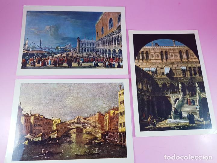 7/LOTE 3 POSTALES-ARTE-ITALIA-P.MARZARI-EDOZ.ARDO-SIN CIRCULAR-EXCELENTE-VER FOTOS. (Postales - Postales Temáticas - Arte)