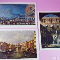 Postales: 7/LOTE 3 POSTALES-ARTE-ITALIA-P.MARZARI-EDOZ.ARDO-SIN CIRCULAR-EXCELENTE-VER FOTOS.. Lote 200760030