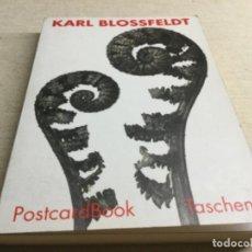 Postales: CARPETA CON 30 POSTALES KARL BLOSSFEDT 1993 . Lote 201220480