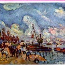 Postales: POSTAL P. CEZANNE TITULO THE SEINE. Lote 202008630