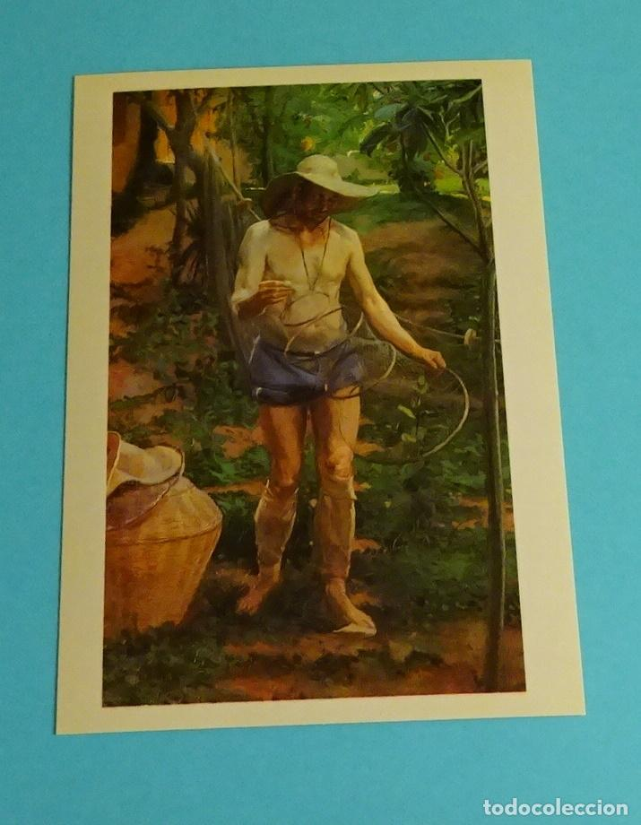 Postales: POSTALES EXPOSICIÓN MIRANDO UNA ÉPOCA, LA PINTURA EN LA DIPUTACIÓN DE VALENCIA DE 1860 A 1936 - Foto 2 - 203838701