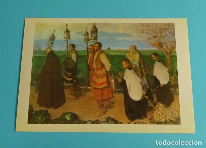 Postales: POSTALES EXPOSICIÓN MIRANDO UNA ÉPOCA, LA PINTURA EN LA DIPUTACIÓN DE VALENCIA DE 1860 A 1936 - Foto 3 - 203838701