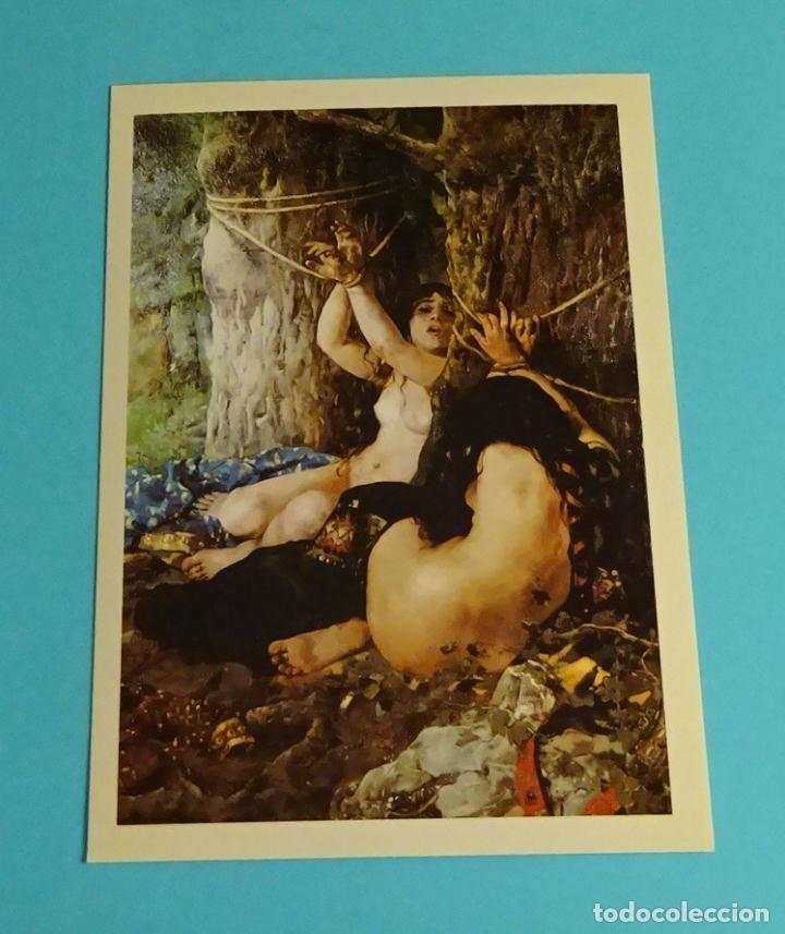 Postales: POSTALES EXPOSICIÓN MIRANDO UNA ÉPOCA, LA PINTURA EN LA DIPUTACIÓN DE VALENCIA DE 1860 A 1936 - Foto 4 - 203838701