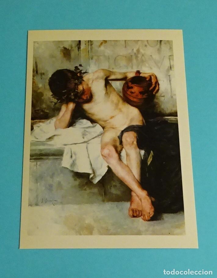 Postales: POSTALES EXPOSICIÓN MIRANDO UNA ÉPOCA, LA PINTURA EN LA DIPUTACIÓN DE VALENCIA DE 1860 A 1936 - Foto 5 - 203838701