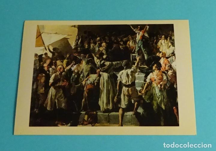 Postales: POSTALES EXPOSICIÓN MIRANDO UNA ÉPOCA, LA PINTURA EN LA DIPUTACIÓN DE VALENCIA DE 1860 A 1936 - Foto 6 - 203838701