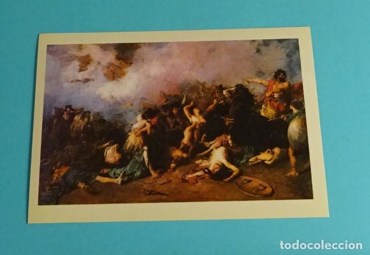 Postales: POSTALES EXPOSICIÓN MIRANDO UNA ÉPOCA, LA PINTURA EN LA DIPUTACIÓN DE VALENCIA DE 1860 A 1936 - Foto 9 - 203838701
