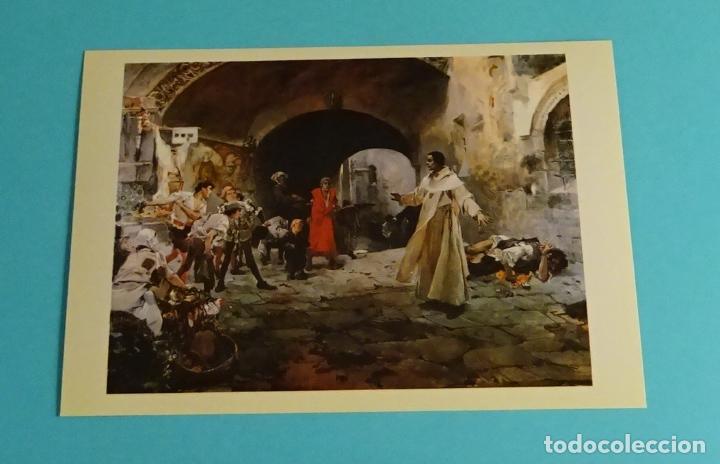 Postales: POSTALES EXPOSICIÓN MIRANDO UNA ÉPOCA, LA PINTURA EN LA DIPUTACIÓN DE VALENCIA DE 1860 A 1936 - Foto 10 - 203838701