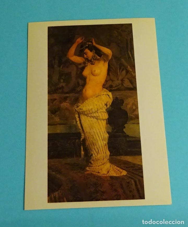 Postales: POSTALES EXPOSICIÓN MIRANDO UNA ÉPOCA, LA PINTURA EN LA DIPUTACIÓN DE VALENCIA DE 1860 A 1936 - Foto 11 - 203838701