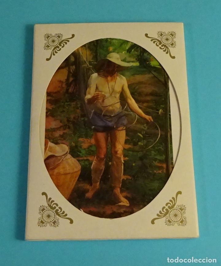POSTALES EXPOSICIÓN MIRANDO UNA ÉPOCA, LA PINTURA EN LA DIPUTACIÓN DE VALENCIA DE 1860 A 1936 (Postales - Postales Temáticas - Arte)