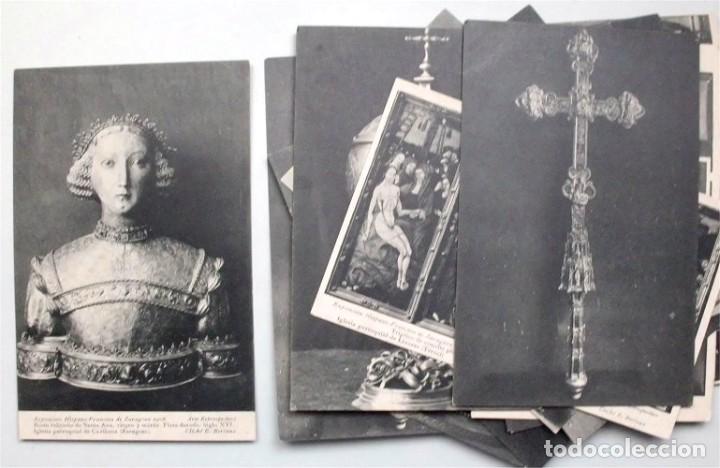 COLECCIÓN DE 15 POSTALES DE LA EXPOSICIÓN HISPANO-FRANCESA DE ZARAGOZA 1908. HAUSER Y MENET (Postales - Postales Temáticas - Arte)