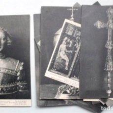 Postales: COLECCIÓN DE 15 POSTALES DE LA EXPOSICIÓN HISPANO-FRANCESA DE ZARAGOZA 1908. HAUSER Y MENET. Lote 203945240