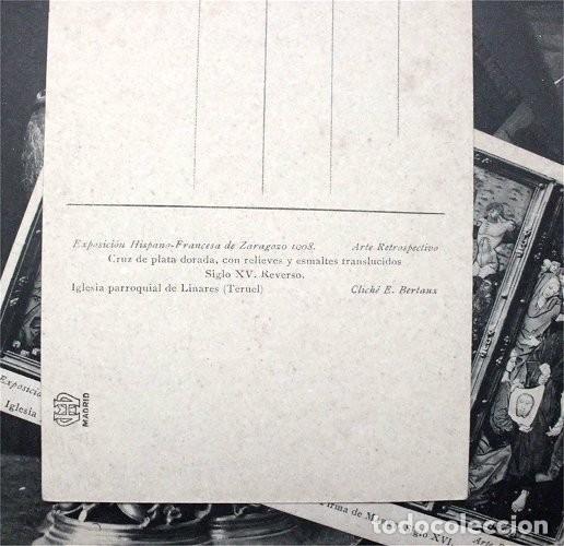 Postales: Colección de 15 postales de la Exposición Hispano-Francesa de Zaragoza 1908. Hauser y Menet - Foto 2 - 203945240