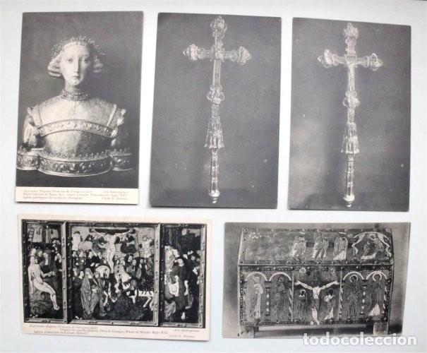 Postales: Colección de 15 postales de la Exposición Hispano-Francesa de Zaragoza 1908. Hauser y Menet - Foto 3 - 203945240