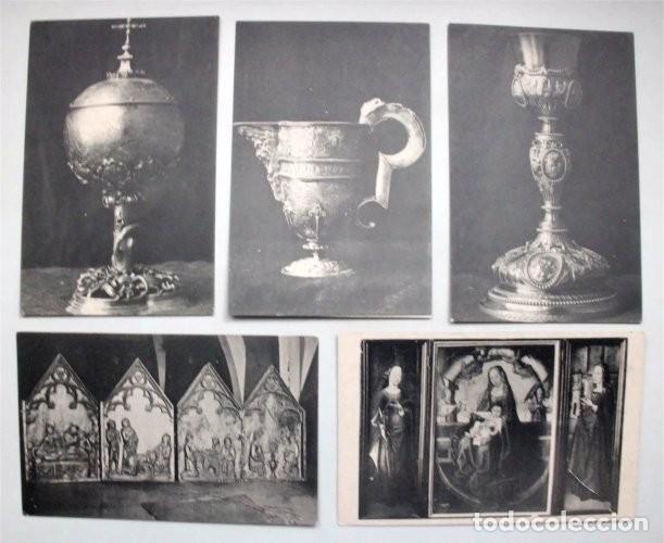 Postales: Colección de 15 postales de la Exposición Hispano-Francesa de Zaragoza 1908. Hauser y Menet - Foto 4 - 203945240