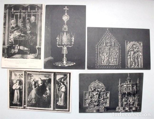 Postales: Colección de 15 postales de la Exposición Hispano-Francesa de Zaragoza 1908. Hauser y Menet - Foto 5 - 203945240