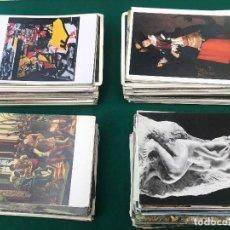 Postales: LOTE DE 400 POSTALES TODAS DE ARTE EN MUSEOS EUROPEOS_ TODAS NUEVAS SIN CIRCULAR. Lote 204337246