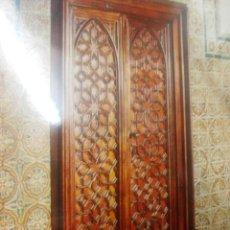 Postales: GANDIA, PALACIO SANTO DUQUE, PUERTA LABRADA. Lote 205075160