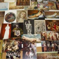 Postales: LOTE 56 POSTALES DE ARTE, DIFERENTES. Lote 205133468