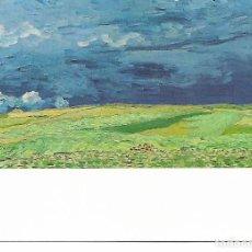 Postales: POSTAL CAMPO TRIGO BAJO CIELO NUBLADO VAN GOGH MUSEUM AMSTERDAM SIN CIRCULAR. Lote 206363977