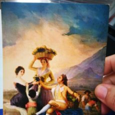Postales: POSTAL GOYA LA VENDIMIA N 51 MUSEO DEL PRADO ESCUDO DE ORO S/C 1962. Lote 206450300