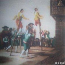 Postales: LOS ZANCOS , GOYA, MUSEO DEL PRADO. Lote 206497391