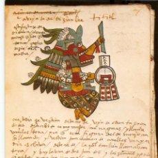 Postales: POSTAL MUSEO DE AMERICA - CODICE DE TUDELA. Lote 206514717