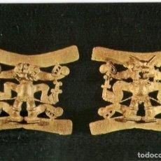 Postales: POSTAL MUSEO DE AMERICA - COLGANTES EN FORMA DE HECHICERO. Lote 206517711