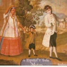 Postales: POSTAL MUSEO DE AMERICA - SERIE DE MESTIZAJES - P314. Lote 206518232