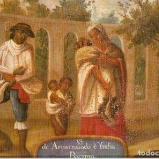 Postales: POSTAL MUSEO DE AMERICA - SERIE DE MESTIZAJES - P315. Lote 206519210